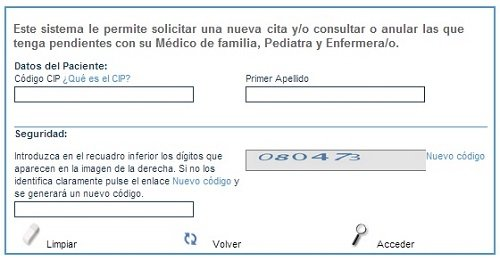 Cita m dico castilla y le n - Pedir cita al medico de cabecera por internet ...