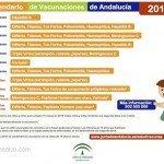 Calendario de vacunaciones de Andalucía