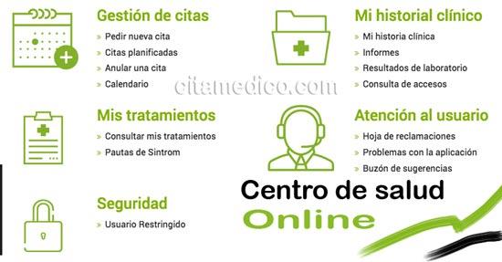 Centro de Salud Online de Extremadura Salud
