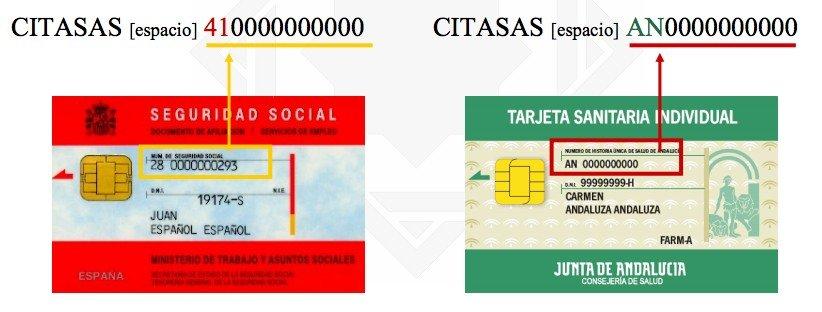 Numero de tarjeta seguridad social