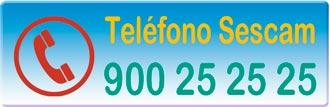 Teléfono gratuito de información del Servicio de Salud de Castilla-La Mancha