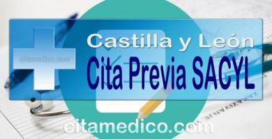 Información para pedir Cita Previa SACYL de Castilla y León en: Zamora, Valladolid, salamanca, Ávila, Segovia, Soria, Burgos, Palencia y León
