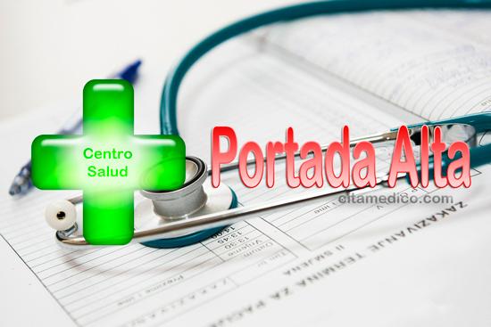 Información del Centro de salud Portada Alta en Málaga con teléfonos, dirección, localización y cita médico del SAS, Servicio Andaluz de Salud
