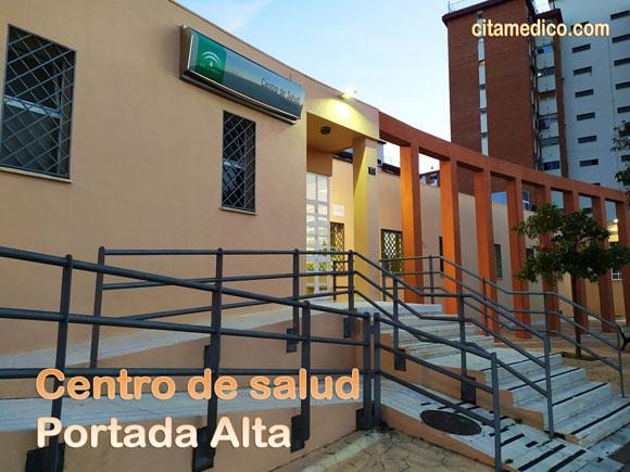 Centro de salud de atencion primaria del Servicio Andaluz de salud (SAS) de Portada Alta en Málaga