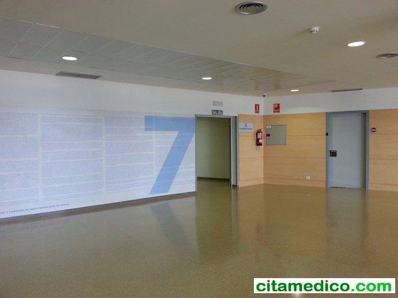 Planta 7 del Hospital del campus de la Salud de Granada