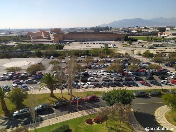 Aparcamiento gratis Frente al Hospital Clinico de Málaga
