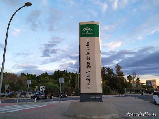 Hospital Universitario Virgen de la Victoria es un complejo hospitalario público gestionado por el Servicio Andaluz de Salud