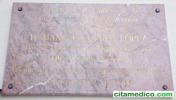 Consultorio Médico Manuel Correa López en Villanueva de La Concepción