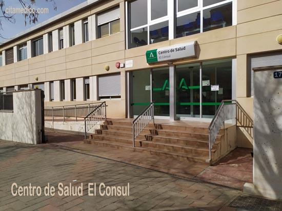 Centro de salud El Consul en Teatinos, Málaga con teléfono, horario y cita previa