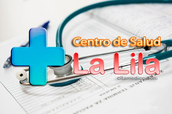Información del Centro de salud La Lila del Servicio de Salud del Principado de Asturias (SESPA), con teléfonos, dirección v localización
