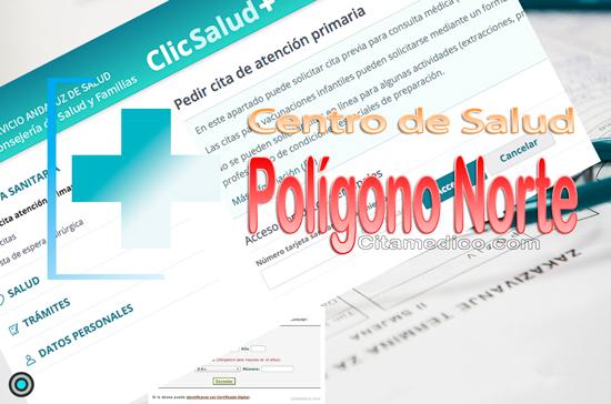 Información del Centro de salud Polígono Norte en Sevilla con teléfonos, dirección, localización y cita médico del SAS, Servicio Andaluz de Salud