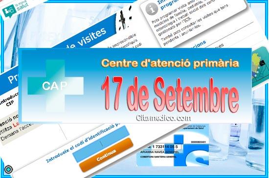 Centre d'atenció primària CAP 17 de setembre de CatSalut Servei Català de la Salut a Barcelona