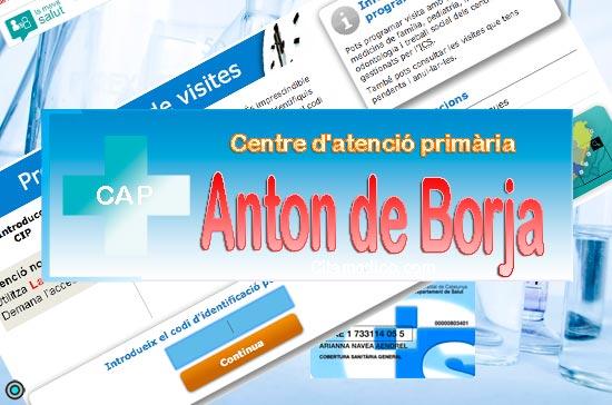 Centre d'atenció primària CAP Anton de Borja de CatSalut Servei Català de la Salut a Barcelona