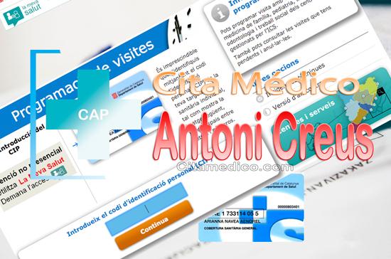 Centre d'atenció primària CAP Antoni Creus (Can Parellada) de CatSalut Servei Català de la Salut a Barcelona