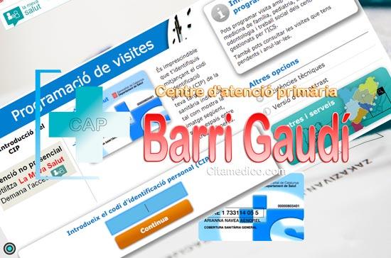 Centre d'atenció primària Consultori local Barri Gaudí de CatSalut Servei Català de la Salut a Tarragona