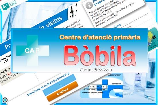 Centre d'atenció primària CAP Bòbila de CatSalut Servei Català de la Salut a Barcelona