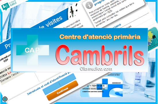 Centre d'atenció primària CAP Cambrils de CatSalut Servei Català de la Salut a Tarragona