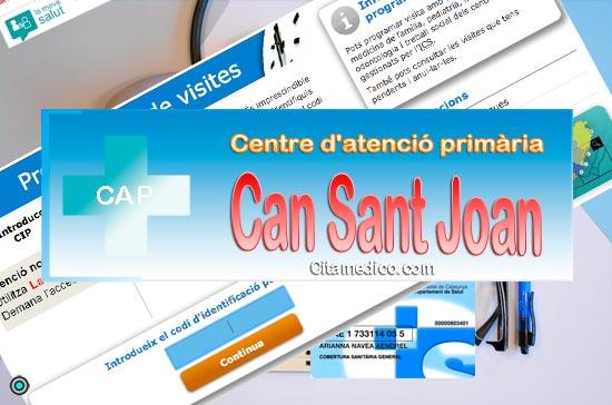 Centre d'atenció primària Consultori local Can Sant Joan de CatSalut Servei Català de la Salut a Barcelona