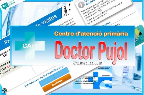 Centre d'atenció primària CAP Doctor Pujol i Capsada de CatSalut Servei Català de la Salut a Barcelona