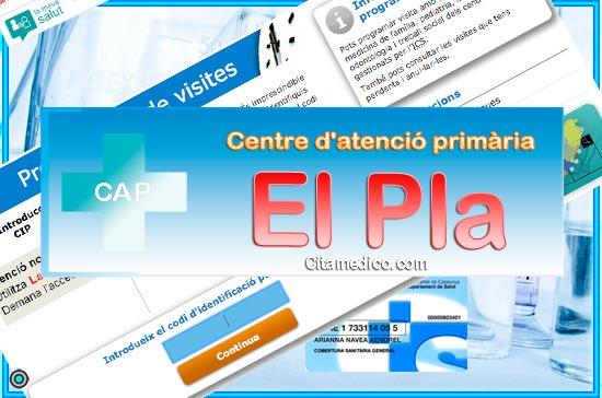 Centre d'atenció primària CAP El Pla de CatSalut Servei Català de la Salut a Barcelona