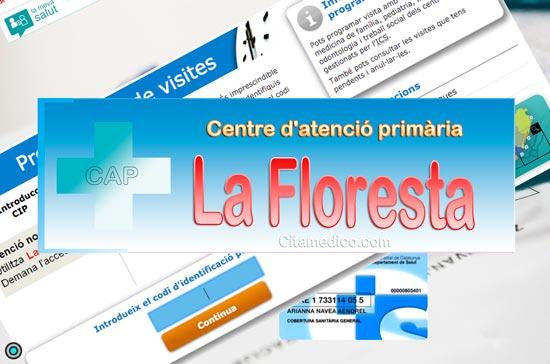 Centre d'atenció primària Consultori local La Floresta de CatSalut Servei Català de la Salut a Barcelona
