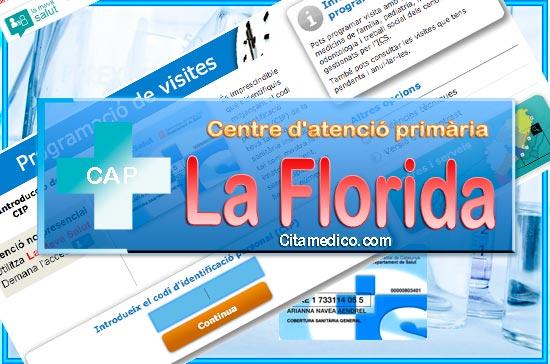 Centre d'atenció primària CAP La Florida de CatSalut Servei Català de la Salut a Barcelona
