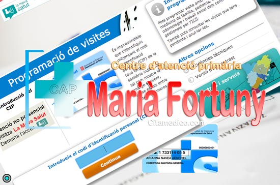 Centre d'atenció primària CAP Marià Fortuny de CatSalut Servei Català de la Salut a Tarragona