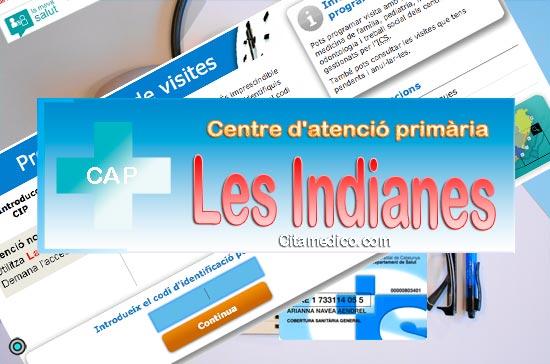 Centre d'atenció primària CAP Les Indianes (Montcada i Reixac) de CatSalut Servei Català de la Salut a Barcelona
