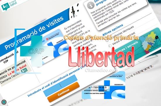 Centre d'atenció primària CAP Llibertat de CatSalut Servei Català de la Salut a Tarragona