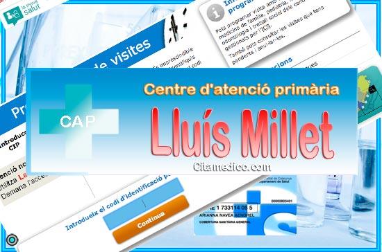 Centre d'atenció primària CAP Lluís Millet de CatSalut Servei Català de la Salut a Barcelona