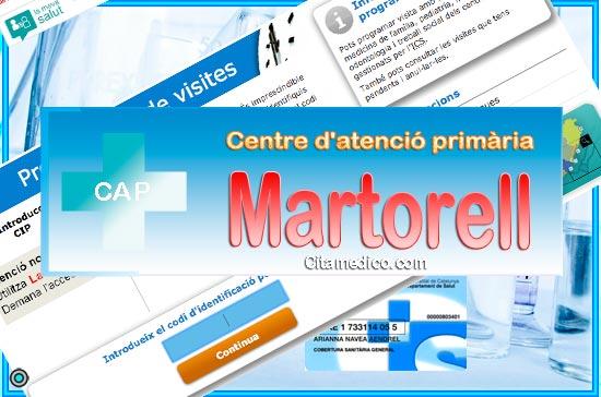 Centre d'atenció primària CAP Martorell de CatSalut Servei Català de la Salut a Barcelona