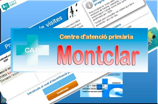 Centre d'atenció primària CAP Montclar de CatSalut Servei Català de la Salut a Barcelona