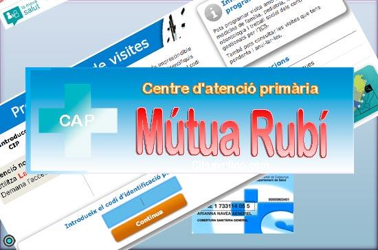 Centre d'atenció primària CAP Mútua Rubí de CatSalut Servei Català de la Salut a Barcelona