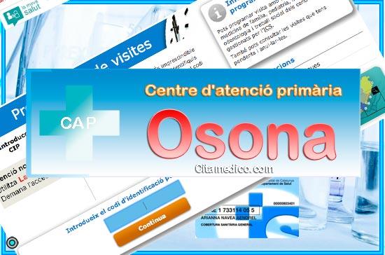 Centre d'atenció primària CAP Osona de CatSalut Servei Català de la Salut a Barcelona