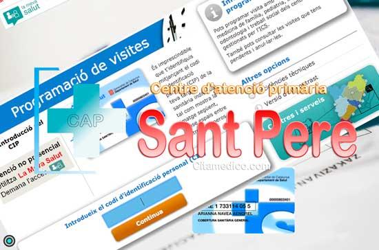 Centre d'atenció primària CAP Sant Pere i Sant Pau de CatSalut Servei Català de la Salut a Tarragona