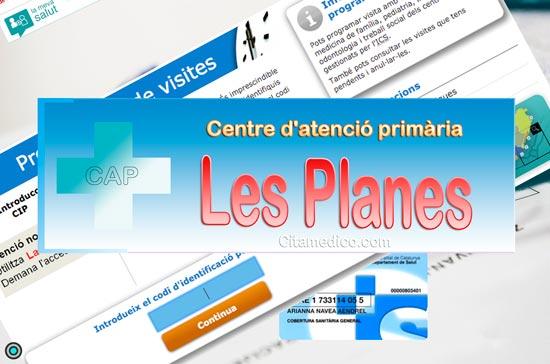 Centre d'atenció primària Consultori local Les Planes de CatSalut Servei Català de la Salut a Barcelona