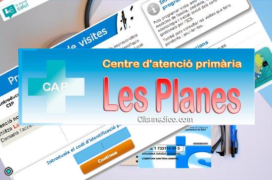 Centre d'atenció primària CAP Les Planes de CatSalut Servei Català de la Salut a Barcelona