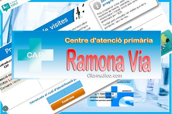Centre d'atenció primària CAP Ramona Via de CatSalut Servei Català de la Salut a Barcelona