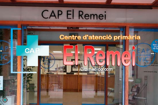 Centre d'atenció primària CAP El Remei de CatSalut Servei Català de la Salut a Barcelona