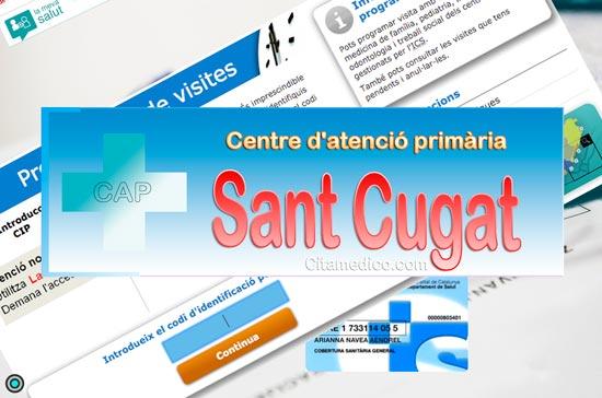 Centre d'atenció primària CAP Sant Cugat del Vallès de CatSalut Servei Català de la Salut a Barcelona