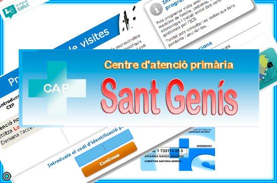 Centre d'atenció primària CAP Sant Genís de CatSalut Servei Català de la Salut a Barcelona