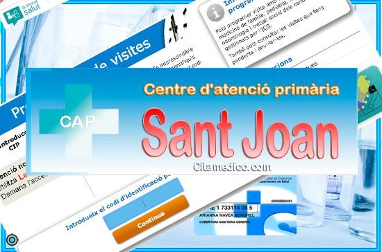 Centre d'atenció primària CAP Sant Joan de CatSalut Servei Català de la Salut a Barcelona