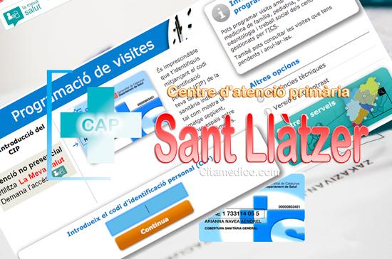 Centre d'atenció primària CAP Sant Llàtzer de CatSalut Servei Català de la Salut a Barcelona