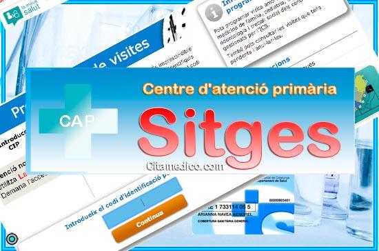 Centre d'atenció primària CAP Sitges de CatSalut Servei Català de la Salut a Barcelona