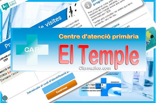 Centre d'atenció primària CAP El Temple de CatSalut Servei Català de la Salut a Tarragona