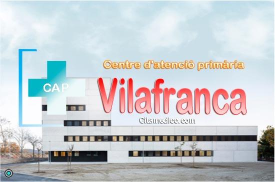 Centre d'atenció primària CAP Vilafranca Nord de CatSalut Servei Català de la Salut a Barcelona