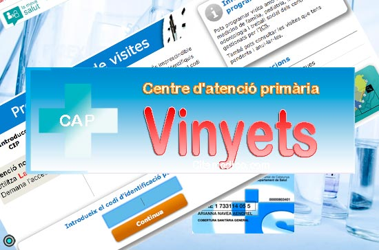Centre d'atenció primària CAP Vinyets de CatSalut Servei Català de la Salut a Barcelona