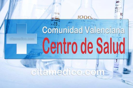 Cita Metge Centro de Salud Montanejos Centre d'atenció primària de Castellón