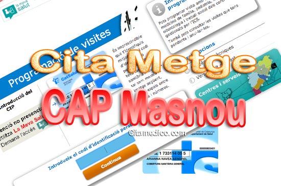 Cita Metge CAP El Masnou Centre d'atenció primària de CatSalut Servei Català de la Salut a Barcelona