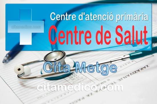 Cita Metge CAP Alcover Centre d'atenció primària de CatSalut Servei Català de la Salut a Tarragona